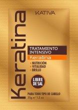 Парфюми, Парфюмерия, козметика Кератинова интензивно възстановяваща маска за коса - Kativa Keratina Intensive Treatment