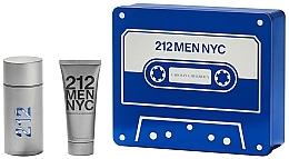 Парфюмерия и Козметика Carolina Herrera 212 Men NYC - Комплект (тоал. вода/100ml + душ гел/100ml)