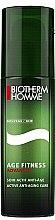 Парфюми, Парфюмерия, козметика Подмладяващ крем за лице за мъже - Biotherm Age Fitness Advanced Activ Anti-Aging Care (тестер)
