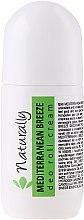 Парфюми, Парфюмерия, козметика Натурален крем-дезодорант - Hristina Cosmetics Naturally Mediterranean Breeze Deo Roll Cream