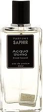 Парфюмерия и Козметика Saphir Parfums Acqua Uomo - Парфюмна вода (тестер с капачка)