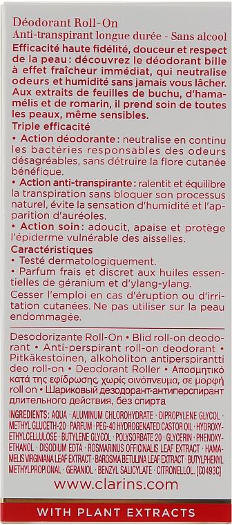 Дезодорант рол-он - Clarins Gentle Care Roll-On Deodorant — снимка N3
