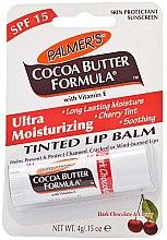 Парфюмерия и Козметика Ултра хидратиращ балсам за устни - Palmer's Cocoa Butter Formula Dark Chocolate & Cherry Lip Butter