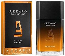 Парфюмерия и Козметика Azzaro pour Homme Amber Fever - Тоалетна вода