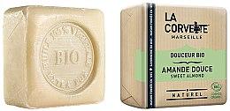 """Парфюмерия и Козметика Органичен сапун """"Сладък бадем"""" - La Corvette Sweet Almond Soap"""