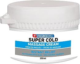 Парфюмерия и Козметика Масажен крем за тяло със силно охлаждащ ефект - Pasmedic Super Cold Massage Cream