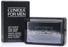 Парфюми, Парфюмерия, козметика Почистващ сапун за лице - Clinique For Men Oil Control Face Soap