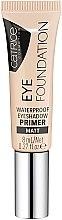 Парфюмерия и Козметика Водоустойчива основа за очи - Catrice Eye Foundation Waterproof Eyeshadow Primer
