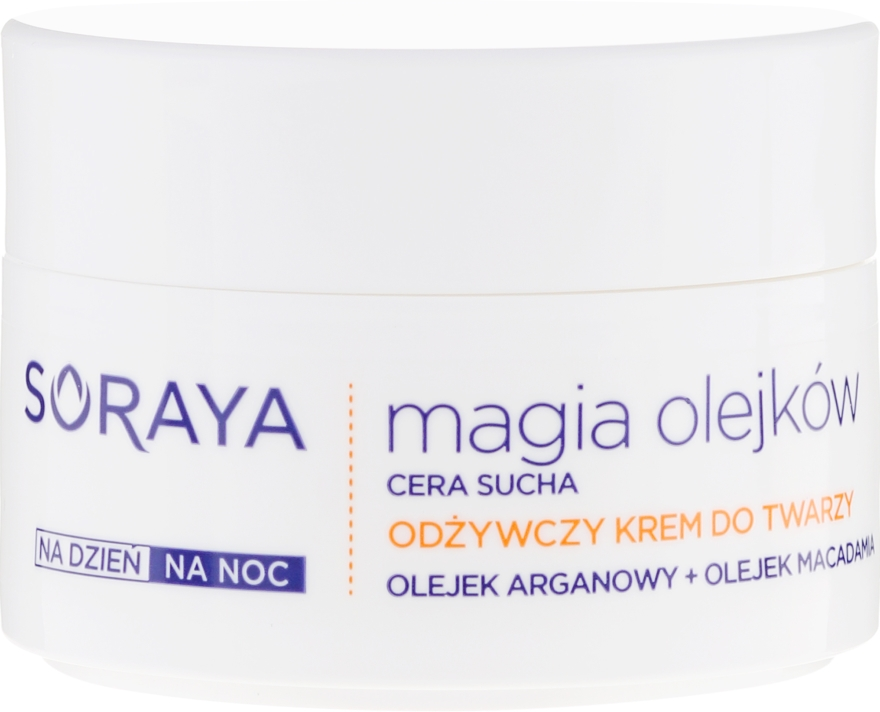 Подхранващ гел за лице - Soraya Magic of Oils Nourishing Cream for Dry Skin — снимка N2