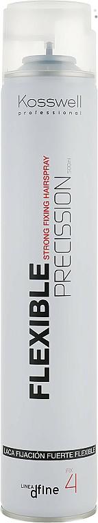 Лак за коса с гъвкава фиксация - Kosswell Professional Dfine Flexible Precission — снимка N1