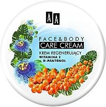 """Парфюмерия и Козметика Крем за лице и тяло """"Витамин Е и D-пантенол"""" - AA Face And Body Care Cream"""