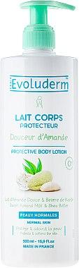Мляко за тяло с бадеми и масло от шеа - Evoluderm Douceur d'Amande Protective Body Lotion