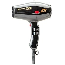 Парфюмерия и Козметика Сешоар за коса - Parlux Hair Dryer 3500 Super Compact Black