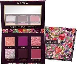 Парфюми, Парфюмерия, козметика Палитра сенки за очи - Nabla Cutie Collection Palette Wild Berry