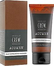 Парфюмерия и Козметика Измиваща глина за лице с ексфолиращ ефект - American Crew Acumen Clay Exfoliating Cleanser