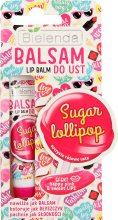 """Парфюми, Парфюмерия, козметика Балсам за устни """"Захарна близалка"""" - Bielenda Sugar Lollipop Lip Balm"""