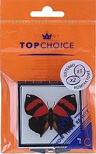 """Компактно козметично огледалце, """"Паперуда"""" 85420, червено - Top Choice — снимка N1"""