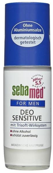 Рол-он балсам-дезодорант за мъже - Sebamed For Men Deo Sensetive Roll-On
