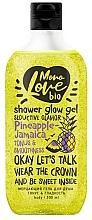Парфюмерия и Козметика Блестящ и тонизиращ душ гел - MonoLove Bio Pineapple-Jamaica Tonus&Smoothness