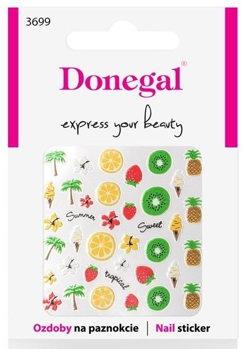 Декориращи лепенки за нокти, 3699 - Donegal — снимка N1