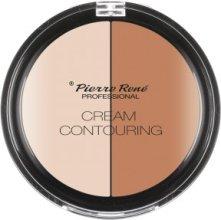 Парфюмерия и Козметика Палитра контури за грим - Pierre Rene Cream Contouring