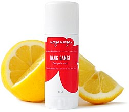 Парфюмерия и Козметика Натурален стик дезодорант - Uoga Uoga Bang Bang Natural Deodorant