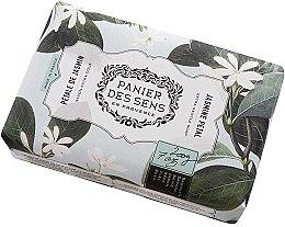 Парфюмерия и Козметика Сапун - Panier Des Sens Extra Gentle Natural Soap with Shea Butter Jasmine Petal