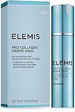 Парфюмерия и Козметика Лифтинг маска за лице с морски водорасли - Elemis Pro-Collagen Marine Mask