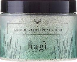 Парфюми, Парфюмерия, козметика Пудра за вана със спирулина - Hagi Bath Puder