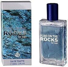 Парфюмерия и Козметика Real Time Pure On The Rocks For Men - Тоалетна вода