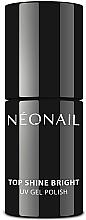 Парфюмерия и Козметика Топ за гел лак - NeoNail Professional Top Shine Bright UV Gel Polish