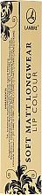 Парфюмерия и Козметика Течно матово червило за устни - Lambre Soft Matt Longwear Lip Colour
