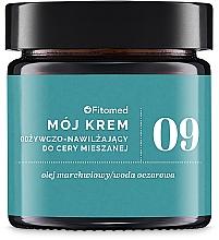 Парфюмерия и Козметика Хидратиращ крем за комбинирана кожа на лицето - Fitomed Face Cream №9