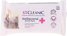Парфюмерия и Козметика Антибактериални мокри кърпички - Cleanic Antibacterial Travel Pack Refreshing Wet Wipes