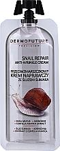 Парфюмерия и Козметика Крем против бръчки с екстракт от охлюв - Dermofuture Snail Repair Anti-Wrinkle Cream