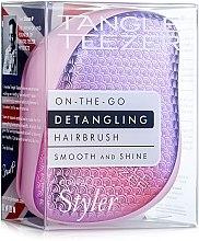 Парфюмерия и Козметика Компактна четка за коса - Tangle Teezer Compact Styler Sunset Pink
