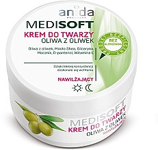 Парфюми, Парфюмерия, козметика Овлажняващ крем за лице с маслиново масло - Anida Medisoft