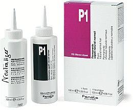 Парфюмерия и Козметика Комплект за химическо къдрене на нормална коса - Fanola P1 Perm Kit for Normal Hair
