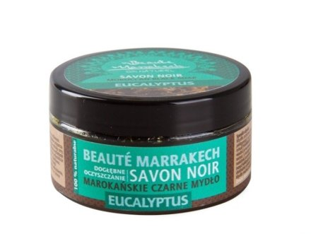 "Натурален черен сапун ""Евкалипт"" - Beaute Marrakech Savon Noir Moroccan Black Soap"