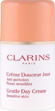 Дневен крем за лице - Clarins Gentle Day Cream — снимка N2