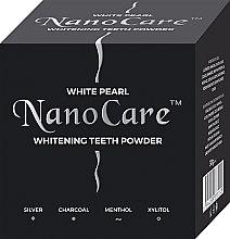 Парфюмерия и Козметика Избелващ зъбен прах - VitalCare White Pearl NanoCare Charcoal Teeth Powder