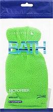 Парфюмерия и Козметика Мочалка-перчатка банная, салатовая - Suavipiel Bath Micro Fiber Mitt Extra Soft