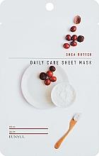 Парфюмерия и Козметика Подхранваща маска за лице с масло от ший - Eunyu Daily Care Sheet Mask Shea Butter