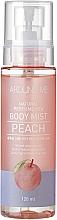 Парфюмерия и Козметика Мист за тяло с аромат на праскова - Welcos Around Me Natural Perfume Vita Body Mist Peach