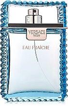 Парфюмерия и Козметика Versace Man Eau Fraiche - Тоалетна вода