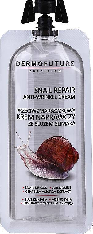 Крем против бръчки с екстракт от охлюв - Dermofuture Snail Repair Anti-Wrinkle Cream