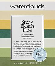 Парфюмерия и Козметика Изсветляваща пудра за коса - Waterclouds Snow Bleach Blue