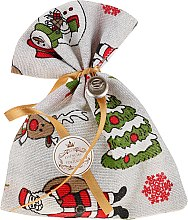 Парфюмерия и Козметика Коледна ароматна торбичка, евкалипт - Essencias De Portugal Tradition Charm Air Freshener