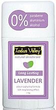 "Парфюми, Парфюмерия, козметика Дезодорант стик ""Лавандула"" - Indus Valley Lavender Deodorant Stick"