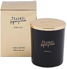 Парфюми, Парфюмерия, козметика Ароматна свещ - Teatro Fragranze Uniche Nero Divino Scented Candle